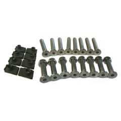 DA1132 - Defender Stainless Steel Bolt Kit - Front Door Hinge Set