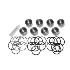 DA1165 - Front Brake Caliper Kit with Stainless Steel Pistons - For Defender 90 (up to 88), Discovery and Range Rover Classic