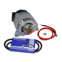 DA1196 - Upgraded Alternator Kit for Land Rover Discovery - 200TDI - From 45amp to 100amp