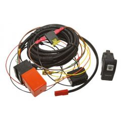 DA1400 - Defender Heated Windscreen Wiring Kit - Comes with Carling Contura Switch - For OEM Style Windscreen