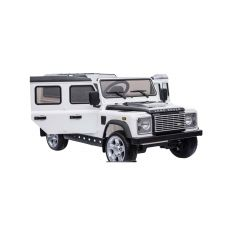 DA1521 - Ride On Defender 110 in White - - Plastic Finish - Suitable for Children Aged 3 to 8