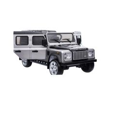 DA1523 - Ride On Defender 110 in Silver and Black - Painted Finish - Suitable for Children Aged 3 to 8