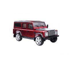 DA1524 - Ride On Defender 110 in Red and Black - Painted Finish - Suitable for Children Aged 3 to 8