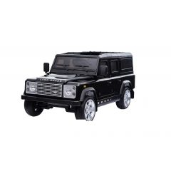 DA1525 - Ride On Defender 110 in Black - Painted Finish - Suitable for Children Aged 3 to 8