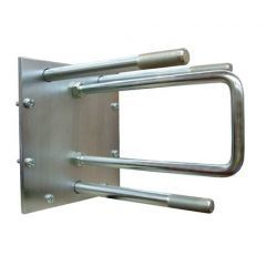 DA2215 | RAC133 - Rear Door Spare Wheel Carrier - Will Fit Series Vehicles and Defender Up to 2002