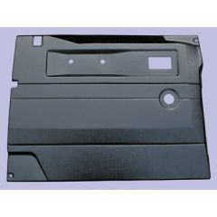 DA2440 - Defender Replacement Door Card - Front Right Hand with Manual Windows In Black ABS Plastic (Fits up to 2005)