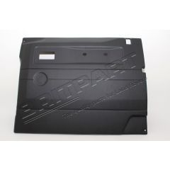 TR262AEW - Defender Replacement Door Card - Front Right Hand with Electric Windows In Black ABS Plastic (Fits from 2005 Onwards)