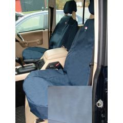 DA2800GREY - Discovery 2 Front Seat Covers In Grey - Washable, Waterproof and Well-Fitted (Doesn't Fit Leather Seats or Adventurer Seats)