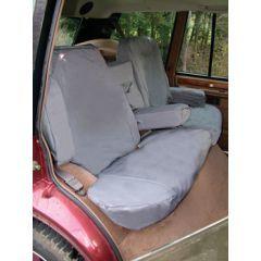 DA2804BLUE - Rear Range Rover Classic Seat Covers In Blue (Four Door)