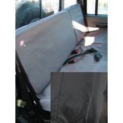 DA2828BLACK - Defender Rear Seat Covers Black - 2007 Onwards - 60/40 Split for Second Row Seats