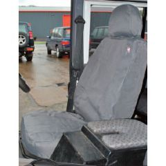 DA2818GREY - Defender Front Seat Covers in Grey - 2007 Onwards