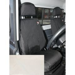 DA2818SAND - Defender Front Seat Covers in Sand - 2007 Onwards