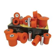 DA3144 - Discovery 3 and 4 Full Suspesion Polybush Kit - For All Wishbone Bushes - Dynamic Polybush Kit in Orange