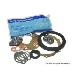 DA3179PG - OEM Swivel Repair Kit for Land Rover Defender 1998 Onwards Non-ABS - Swivel Housing Seals, Bearings, Pins and Gaskets
