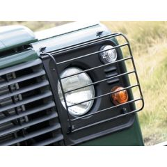 DA4077 - Wolf Style Front Lamp Guards - Pair - By Birtpart - For Defender