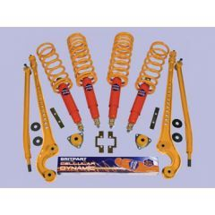 DA4289CMD - Medium Duty / 40mm Lift Cellular Dynamic Full Suspension Kit - Fits Defender 90 from 1994, Discovery 1 and Range Rover Classic from 1986