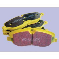 DA4560 - EBC Yellow Stuff Front Brake Pads - For Defender 90 / 110 (DEF 90 from 1991 onwards / DEF 110 from 1986 onwards)