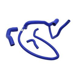 DA4567 - Silicone Coolant Hose Kit by Britpart in Blue for Discovery 300TDi - Three Hose Kit (Image shows Defender 300TDI Kit Which is Similar)