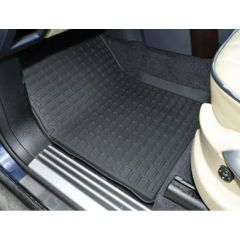 DA4806 - Range Rover L322 Rubber Mat Set (Right Hand Drive - Fits 2002-2006) - With Lipped-Edge - Set of Four