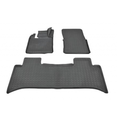 DA4809 - Range Rover L322 Rubber Mat Set (Left Hand Drive - Fits 2007-2012) - With Lipped-Edge - Set of Four