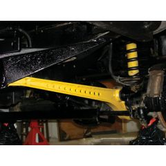 DA5505 - Britpart Heavy Duty Front Radius Arm (Early Style) - With Castor Correction - Comes as a Pair in Eye-Catching Yellow -  For Defende