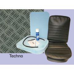 DA5633 - Defender Centre Seat Re-Trim Kit - Techno (1990 Onwards)