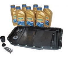 DA6085 - Full Automatic Transmission Fluid Kit With Oil for Range Rover L322, Range Rover Sport and Discovery