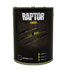 DA6370 - Raptor 5 Litre Liner in Black Finish - Durable Protective Coating for Almost Any Surface