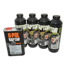 DA6384 - Raptor 4 Litre Kit in Tintable Finish - Durable Protective Coating for Almost Any Surface