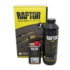 DA6498 - Raptor 1 Litre Kit in Tintable Finish - Durable Protective Coating for Almost Any Surface