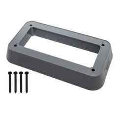DA6555 - Plinth for Interior LED Light on Land Rover Defender - By Mud UK in Light Grey - To Enable Fitment to Rear of Station Wagon