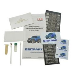 DA8533 - Security Marking Kit by Britpart - Perfect to Help Prevent Your Land Rover Defender Being Stolen