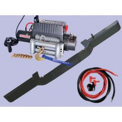 DB1313 - Defender Standard Bumper With DB12000I Winch and Steel Cable (No AC)