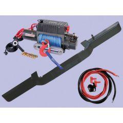 DB1313R - Defender Standard Bumper With DB12000I Winch and Dyneema Rope (No AC)