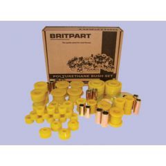 DC7005 - Range Rover Classic up to 1986 Poly Bush Kit In Yellow By Britpart - Full Vehcile Kit