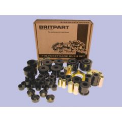 DC7105 - Range Rover Classic up to 1986 Poly Bush Kit In Black By Britpart - Full Vehcile Kit