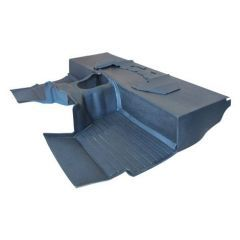 EXT009-12G - Defender Heavy-Duty Moulded Mat System in Grey by Exmoor Trim - For LT77 Box 1983-1993 Defenders
