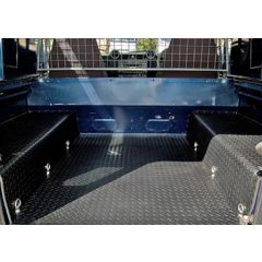 EXT009-14 - Defender Three-Piece Loadspace Mat System by Exmoor Trim - For all Defenders 90 & 110 CSW