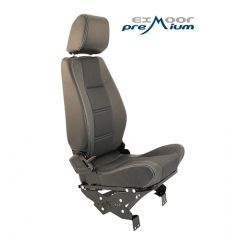 EXT010-3RH - Premium High Back Second Row Seat - Right Hand Seat for Defender - By Exmoor Trim - Available In Multiple Trim Options