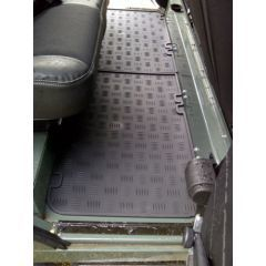 EXT017-3 - Defender Second Row Seating Mat by Exmoor Trim - For Land Rover Defender