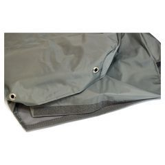 EXT018-20GRY - Tumble Down Seat Covers in Grey Nylon for Land Rover Defender Puma - Fits from 2007 Onwards
