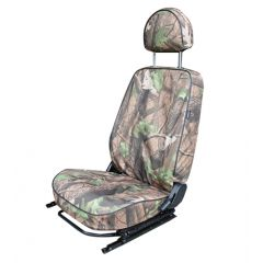 EXT018-50 - Canvas Front Seat Covers in Camouflage for Land Rover Defender Puma - Fits from 2007-2013 (up to BA99999 Chassis Number)