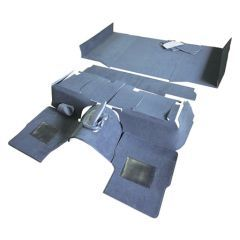 EXT021-12 - Full Vehicle Premium Carpet Set for Puma Defender 90 with Square Wheel Arches - Will Fit both RHD and LHD Defenders
