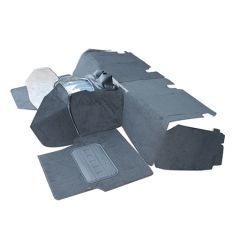 EXT021-15 - Full Front Premium Carpet Set for Puma Defender from 2007 - Will Fit both RHD and LHD Defenders