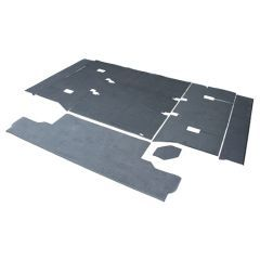 EXT021-21 - Rear Body Premium Carpet Set for Defender 90 with Cut Away Wheel Arches - Will Fit both RHD and LHD Defenders