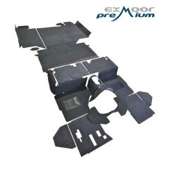 EXT021-5 - Full Vehicle Premium Carpet Set for Defender 110 Station Wagon with R380 Gearbox - RHD & LHD Defenders