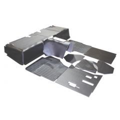 EXT023-3 - Defender Hardura Matting Set by Exmoor Trim - For Defenders with R380 Gearbox - 1994-2006