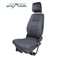EXT053-RH - Premium Lock and Fold Load Space Seat for Land Rover Defender - Right Hand - Comes in Multiple Trim Options