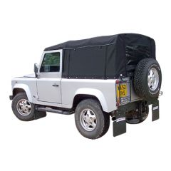 EXT201-1 - Full Stayfast Hood for Land Rover Defender 90 from 1998 Onwards - By Exmoor Trim - Comes in Multiple Trim Options