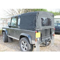 EXT205 - Three Quarter Hood for Land Rover Defender 90 - Body Fit Hood - By Exmoor Trim - Comes in Multiple Trim Options